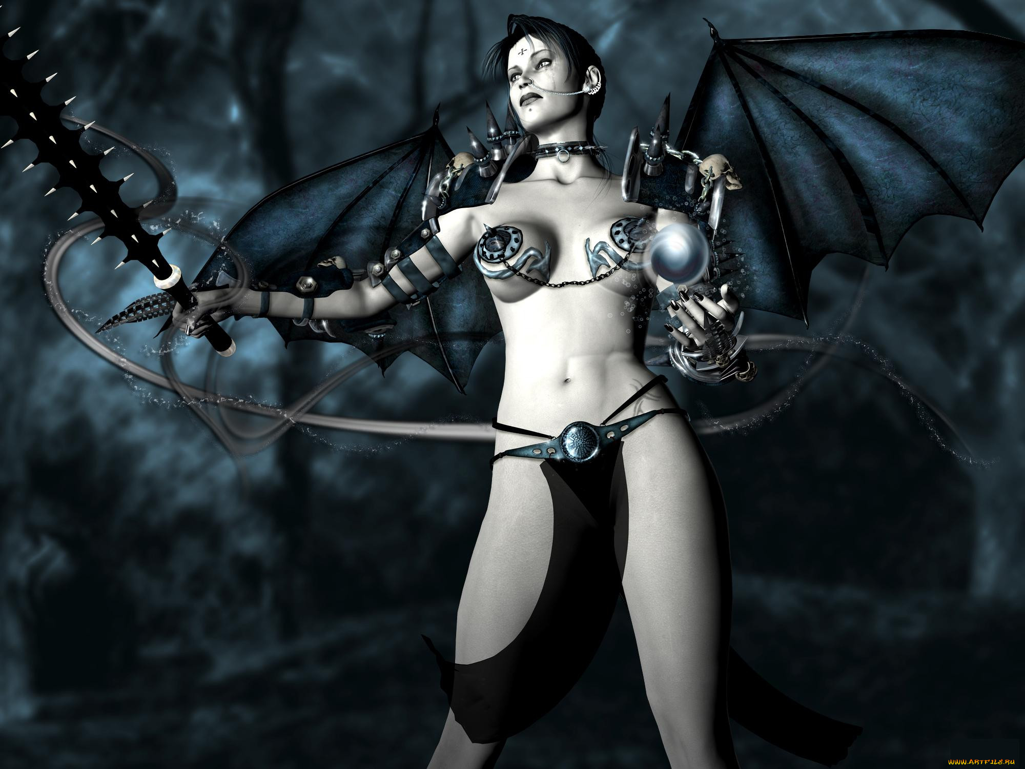 Monster and demon 3d ero model porn movies